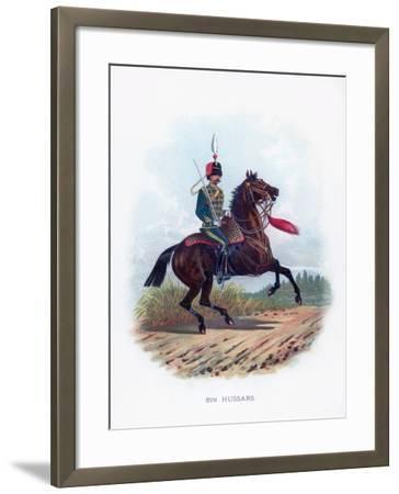 8th Hussars, 1889--Framed Giclee Print