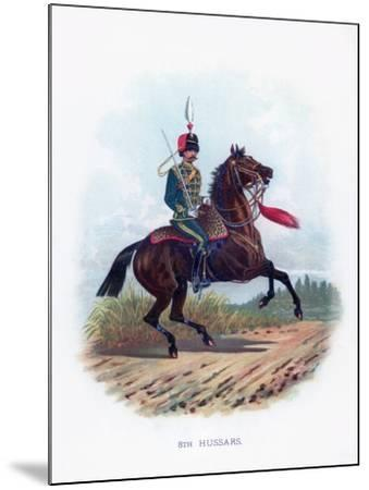 8th Hussars, 1889--Mounted Giclee Print