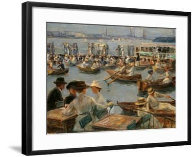 On the Alster in Hamburg, 1910-Max Liebermann-Framed Giclee Print