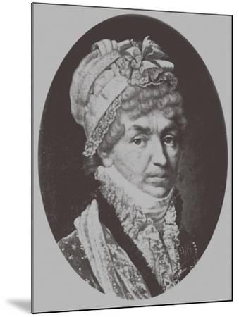 Portrait of Princess Natalya Petrovna Galitzine (1741-183), 1870-Andrey Mikhaylovich Lushev-Mounted Giclee Print