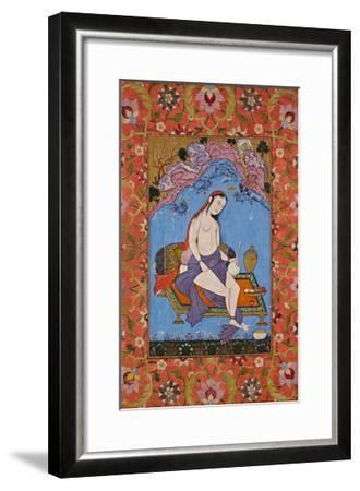 Scantily Clad Woman in a Landscape, C. 1640--Framed Giclee Print