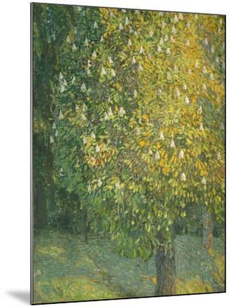 Blooming Chestnut Tree-Alexander Yakovlevich Golovin-Mounted Giclee Print