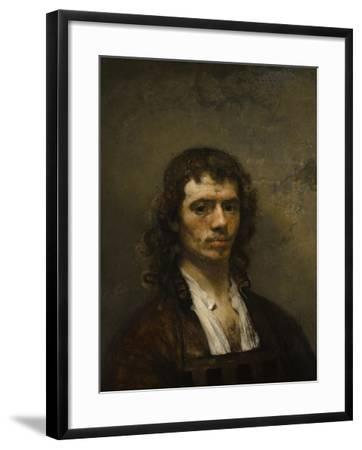 Self-Portrait, C. 1645-Carel Fabritius-Framed Giclee Print