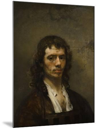 Self-Portrait, C. 1645-Carel Fabritius-Mounted Giclee Print