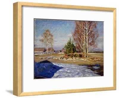 Spring Landscape, 1915-Sergei Arsenyevich Vinogradov-Framed Giclee Print