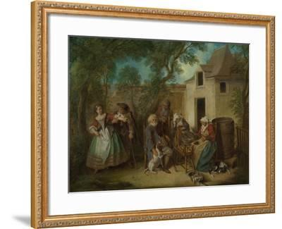 The Four Ages of Man: Old Age, Ca 1735-Nicolas Lancret-Framed Giclee Print