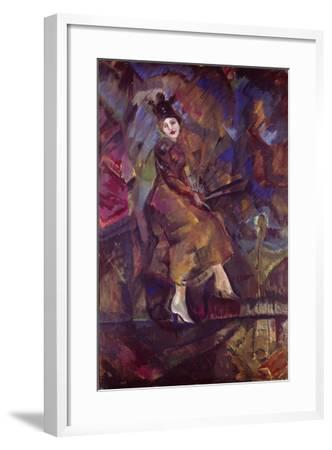 Portrait of Panna Paskevich-Georgi Bogdanovich Yakulov-Framed Giclee Print