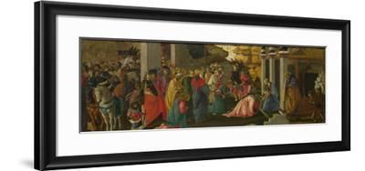 The Adoration of the Kings, Ca 1470-Sandro Botticelli-Framed Giclee Print