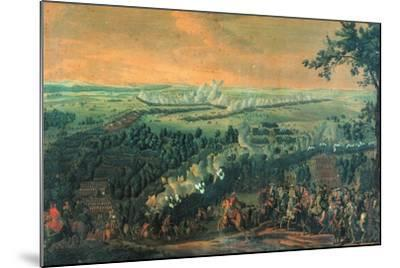The Battle of Lesnaya, 1720S-Nicolas de Larmessin-Mounted Giclee Print