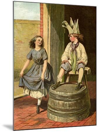 Penny Royal and Columbine, 1866-1895--Mounted Giclee Print
