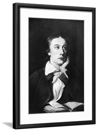 John Keats, English Poet, 19th Century-William Hilton-Framed Giclee Print