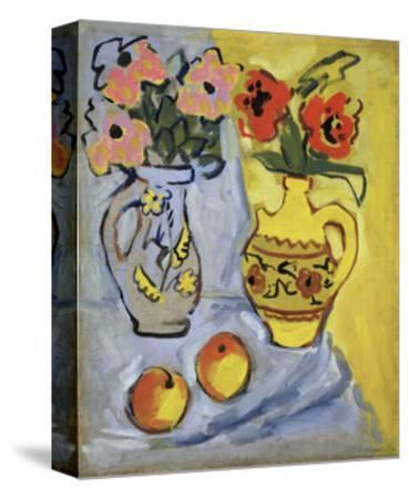 Yellow Still Life, 1962-Alexander Semyonovich Vedernikov-Stretched Canvas Print