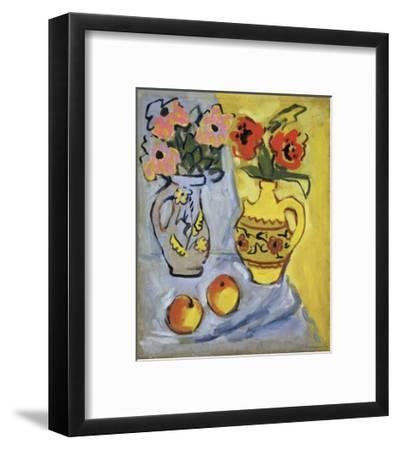 Yellow Still Life, 1962-Alexander Semyonovich Vedernikov-Framed Giclee Print