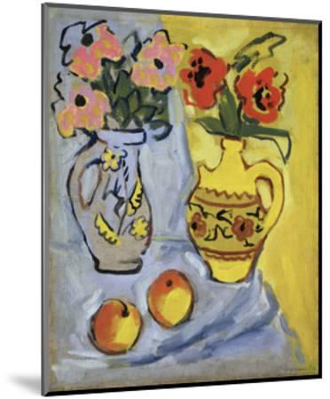 Yellow Still Life, 1962-Alexander Semyonovich Vedernikov-Mounted Giclee Print
