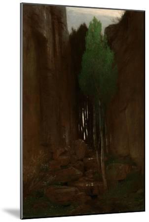 Spring in a Narrow Gorge, 1881-Arnold B?cklin-Mounted Giclee Print