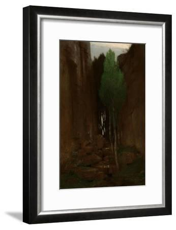 Spring in a Narrow Gorge, 1881-Arnold B?cklin-Framed Giclee Print