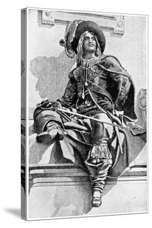 D'Artagnan, 1923- JM Dent & Co-Stretched Canvas Print