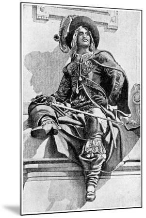D'Artagnan, 1923- JM Dent & Co-Mounted Giclee Print