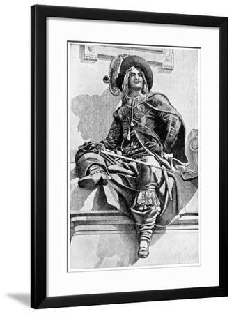 D'Artagnan, 1923- JM Dent & Co-Framed Giclee Print