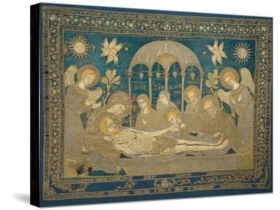 The Entombment (Altar Embroider), 1682--Stretched Canvas Print