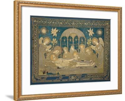 The Entombment (Altar Embroider), 1682--Framed Giclee Print