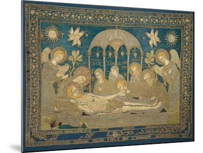 The Entombment (Altar Embroider), 1682--Mounted Giclee Print