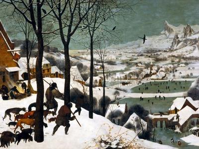 Hunters in the Snow (Winte), 1565-Pieter Bruegel the Elder-Giclee Print