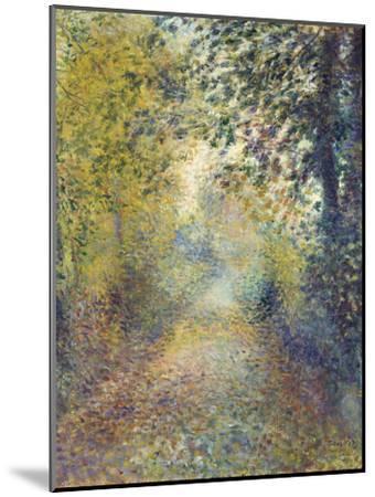 In the Woods, C. 1880-Pierre-Auguste Renoir-Mounted Premium Giclee Print