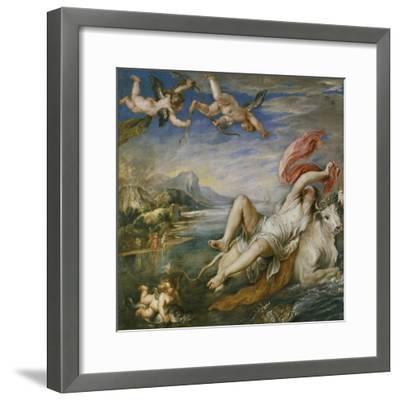 The Rape of Europa (After Titia), 1629-Peter Paul Rubens-Framed Giclee Print