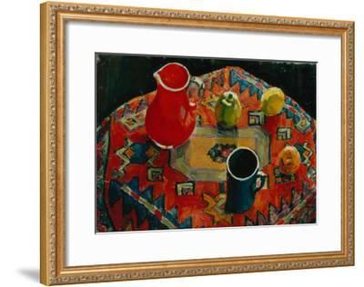 Apples and Pears, 1930-Julia Razumovskaya-Framed Giclee Print