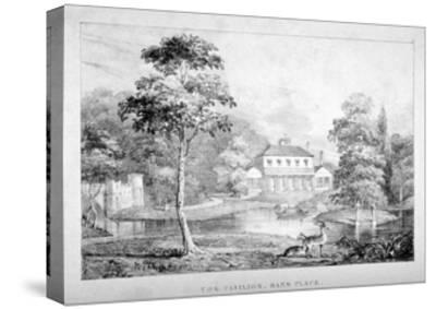 View of the Pavilion, Hans Place, Chelsea, London--Stretched Canvas Print