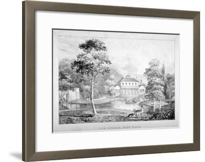 View of the Pavilion, Hans Place, Chelsea, London--Framed Giclee Print