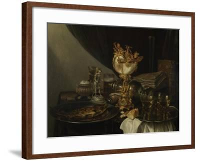 Still Life with a Nautilus Cup, C. 1645-Gerrit Willemsz Heda-Framed Giclee Print