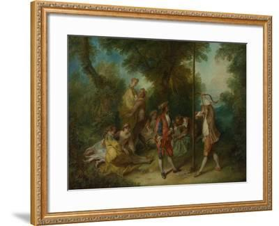 The Four Ages of Man: Maturity, Ca 1735-Nicolas Lancret-Framed Giclee Print