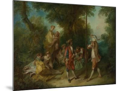 The Four Ages of Man: Maturity, Ca 1735-Nicolas Lancret-Mounted Giclee Print