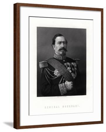 Charles Denis Sauter Bourbaki, French General, 19th Century--Framed Giclee Print