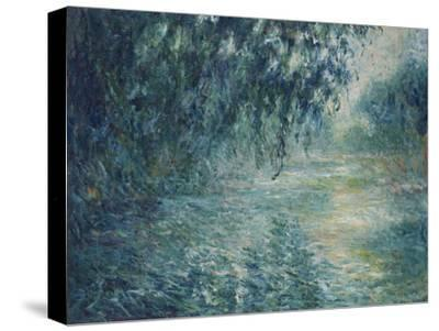 Morning on the Seine, 1898-Claude Monet-Stretched Canvas Print