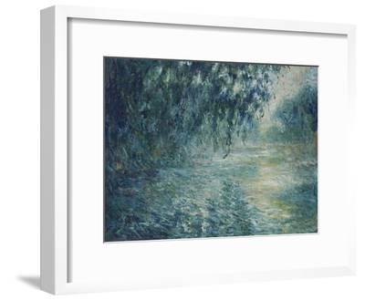 Morning on the Seine, 1898-Claude Monet-Framed Giclee Print