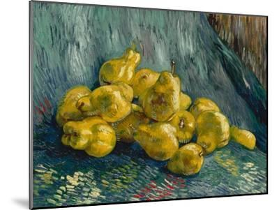 Still Life with Quinces, 1887-1888-Vincent van Gogh-Mounted Giclee Print
