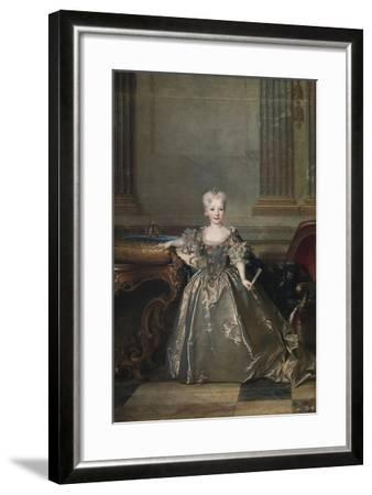 Infanta Mariana Victoria of Spain, 1724-Nicolas de Largillière-Framed Giclee Print