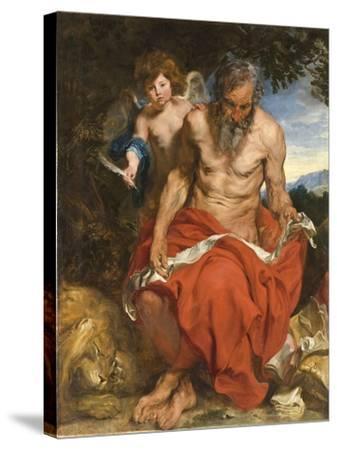 Saint Jerome, 1618-1619-Sir Anthony Van Dyck-Stretched Canvas Print