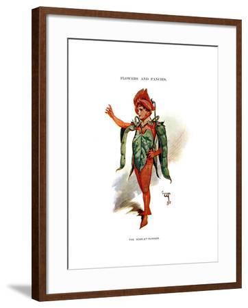The Scarlet Runner, 1899-C Wilhelm-Framed Giclee Print