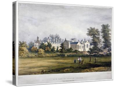Dulwich College, London, C1830-Standidge & Co-Stretched Canvas Print