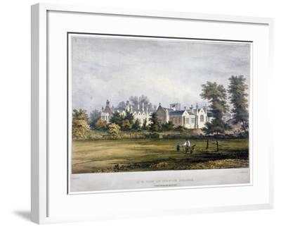 Dulwich College, London, C1830-Standidge & Co-Framed Giclee Print