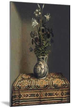 Flowers in a Jug, Ca 1485-Hans Memling-Mounted Giclee Print