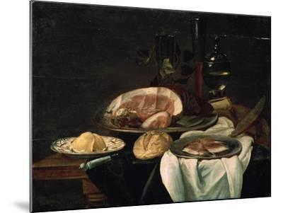 Still Life, 1650--Mounted Giclee Print