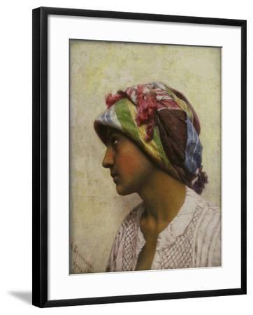 The Italian Girl, 1880-Feodor Andreyevich Bronnikov-Framed Giclee Print