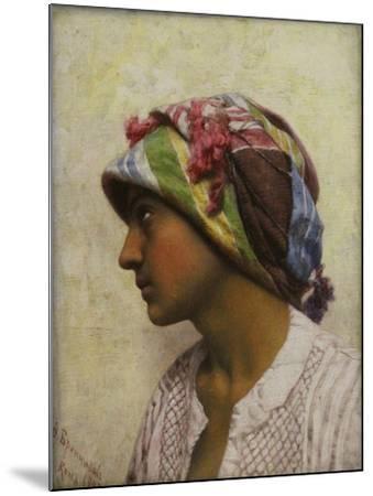 The Italian Girl, 1880-Feodor Andreyevich Bronnikov-Mounted Giclee Print