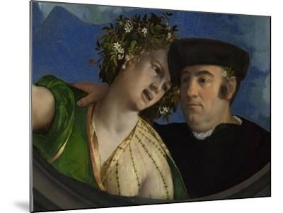 A Man Embracing a Woman, Ca 1524-Dosso Dossi-Mounted Giclee Print