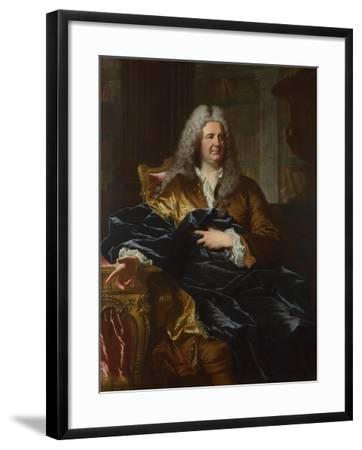 Portrait of Antoine Pâris, 1724-Hyacinthe François Honoré Rigaud-Framed Giclee Print